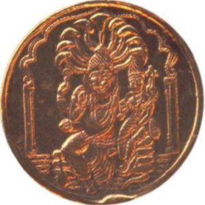 a3041-1-lakshmi-narasimha-swamy-copper-coin-ak