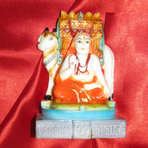 a4947-raghavendra-swamy-with-cow-idol-colour